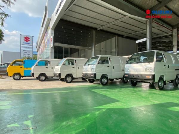 Suzuki Blind Van người chiến sĩ bền bỉ của người dùng Việt