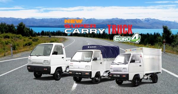 Xe tải Suzuki 500kg đáp ứng nhu cầu vận chuyển của người Việt
