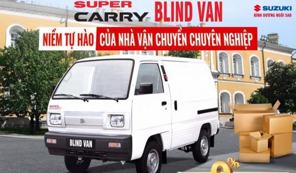 Mô tả những đặc điểm trang bị an toàn trên Suzuki Blind Van