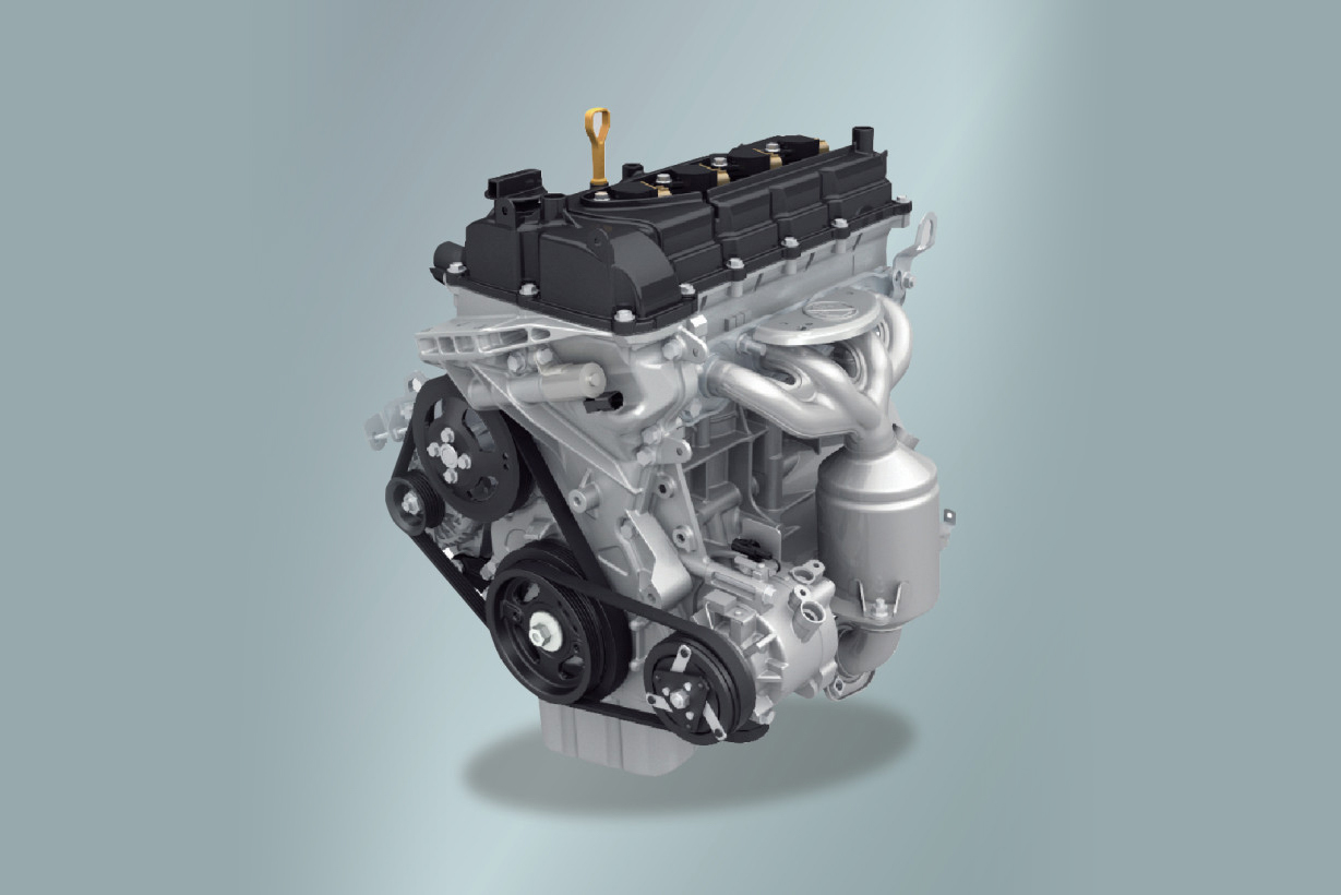 Động cơ xăng VVT K14B