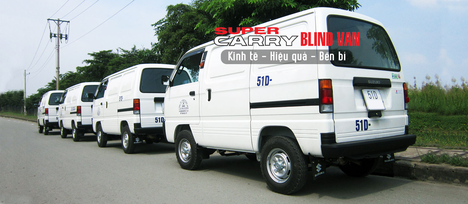 Xe bán tải Suzuki Blind Van 2021