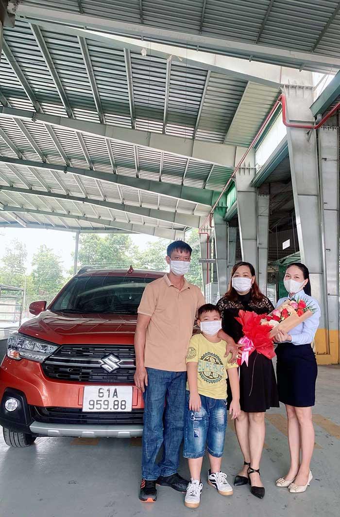 Cảm nhận khách hàng mua xe suzuki xl7