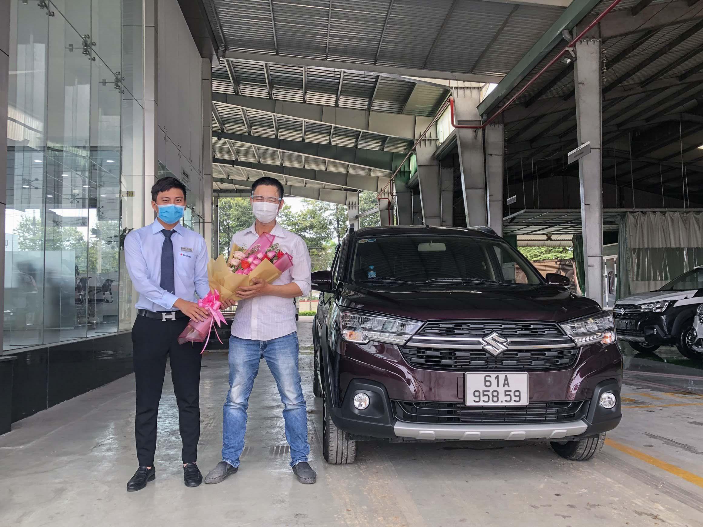 Di chuyển an toàn khi mua Suzuki XL7