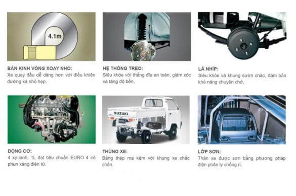 Xe tải nhẹ vận chuyển linh hoạt - an toàn