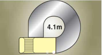 Bán kính vòng xoay nhỏ gọn