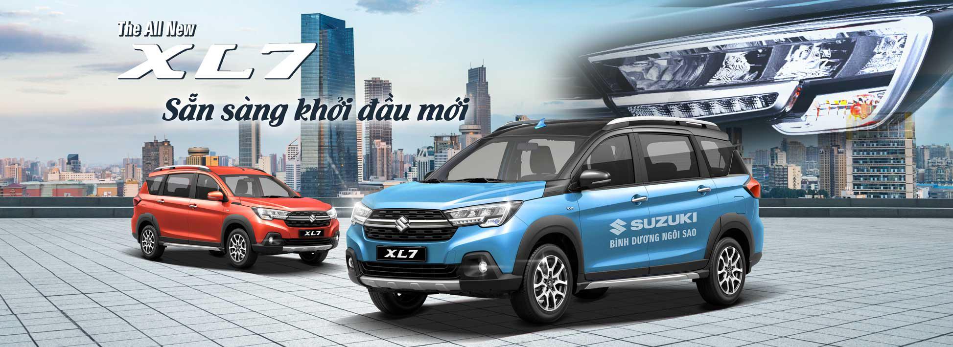 Suzuki XL7 Sẵn sàng khởi động ngày mới
