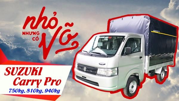 Suzuki Carry Pro - Dòng xe tải nhỏ chuyên dụng nhất hiện nay