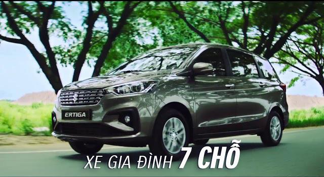 Review chi tiết Suzuki Ertiga 7 chỗ